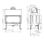 Austroflamm 75x51 S II 2.0