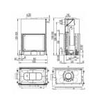 Austroflamm 80x64 S II 2.0